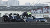 Deux policiers tués sur le périphérique parisien dans une course-poursuite.