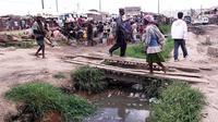 La capitale de l'île Antananarivo est régulièrement pointée du doigt pour son insalubrité, qui participe chaque année à la recrudescence des maladies.