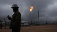 Un puits de pétrole au Texas, aux Etats-Unis.
