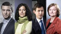 Jordan Bardella (RN), Manon Aubry (LFI), François-Xavier Bellamy (LR) et Nathalie Loiseau (LREM) vont chacun mener leur parti pour les élections européennes de mai prochain.