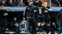 Unai Emery a manqué son coaching pendant le match avec notamment l'entrée de Thomas Meunier à la place d'Edinson Cavani.
