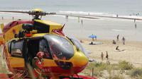 Les pompiers sont intervenus vers 19h30 après avoir été alertés par des témoins qui ont aperçu l'adolescente en partie ensevelie.