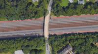 L'accident est survenu près de Washington, au croisement d'un pont avec la route 66.
