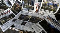L'horreur des attentats de Paris à la une de la presse mondiale.