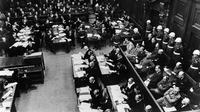 Procès de Nuremberg, 1945.