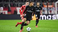 Kylian Mbappé a réduit le score pour le PSG en début de seconde période.