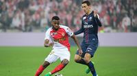 Angel Di Maria et les Parisiens avaient battu les Monégasques, le mois dernier, en finale de la Coupe de la Ligue.