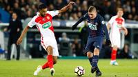 Leonardo Jardim a aligné une équipe fortement remaniée pour affronter le PSG en demi-finale de la Coupe de France.