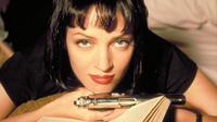 Uma Thurman dans Pulp Fiction de Quentin Tarantino, Palme d'or à Cannes en 1994, à voir sur Canal+Cannes mercredi 17 mai à 20h50.