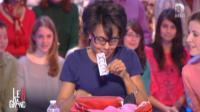 Audrey Pulvar exhibant ses préservatifs sur le plateau du Grand 8