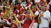 Des supporters venus d'Espagne ont été invités pour soutenir le Qatar.