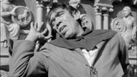 Anthony Queen dans le rôle de Quasimodo, dans le film adapté du roman de Victor Hugo en 1956.