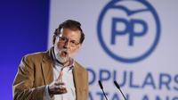 Le chef du gouvernement espagnol Mariano Rajoy, à Barcelone, dimanche 12 novembre 2017.