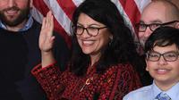 La nouvelle élue démocrate, Rashida Tlaib, a promis, dans une vidéo, de «destituer ce fils de p***», qui n'est autre que le président Donald Trump.