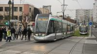 Le tramway T6, lundi.