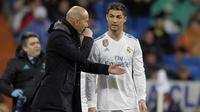 Le Real Madrid de Zinedine Zidane et Cristiano Ronaldo se sont largement imposés au match aller à Turin (0-3).