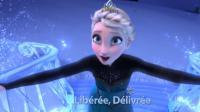 L'application permet de chanter avec tous les héros du film Disney