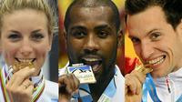 Pauline Ferrand-Prévot, Teddy Riner et Renaud Lavillenie représenteront la France à Rio.