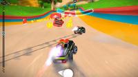 Rocket Cars est un jeu de course qui invite à se défouler sur plus de 50 pistes.