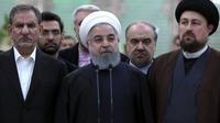 Le président Rohani a invité à écouter la population, dans un discours télévisé, le 31 janvier.