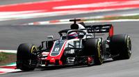 Romain Grosjean a provoqué un nouvel accident dès le départ.
