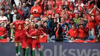 Le Portugal s'est qualifié pour la finale de la Ligue des nations en battant la Suisse (3-1). Trois buts inscrits par Cristiano Ronaldo.