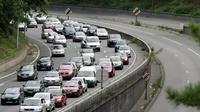 Les automobilistes ont visiblement anticipé cette journée de grève en partant plus tôt de chez eux.