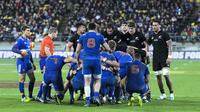 Le XV de France n'a plus battu la Nouvelle-Zélande depuis plus de neuf ans.