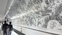 La fresque monumentale de Joe Sacco fait 132 mètres de long