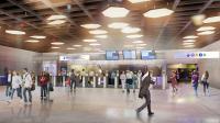 La future salle Friedland à la station Charles-de-Gaulle-Etoile à Paris