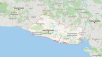 Selon l'institut de géophysique américain USGS, le séisme s'est déclenché à 40 kilomètres au sud de la capitale San Salvador.