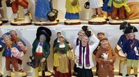 Les santons provencaux ont été inventés peu après la Révolution.