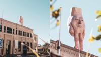 Certains habitants de la ville de Wellington, capitale de la Nouvelle-Zélande, dénoncent une sculpture «monstrueuse».