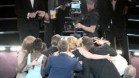La photo record des Oscars, vue de derrière.