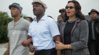 "David Oyelowo (au milieu) campe Martin Luther King Jr. dans le film d'Ava DuVernay ""Selma""."
