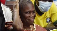 L'ancienne Première dame ivoirienne Simone Gbagbo au Tribunal d'Abidjan, le 9 mai 2016.