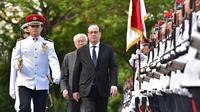 François Hollande à Singapour