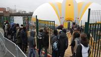 Des milliers de migrants ont été accueillis à la bulle de la porte de la Chapelle.