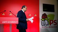 Le premier secrétaire Jean-Christophe Cambadélis, le soir de la défaite historique du PS aux législatives.