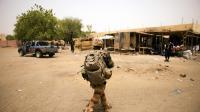 Un soldat français patrouille au Mali, le 13 juin 2013 (image d'illustration)