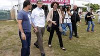 L'édition 2014 du festival Solidays a été marquée notamment par la venue de Bill Gates