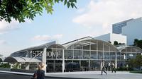 Les premières start-up arriveront début juillet, afin de prendre leur quartier dans cet immense hangar de 34 000 m2.