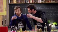 Stéphane Bern a participé à l'émission Les recettes pompettes présentée par Monsieur Poulpe