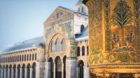 La mosquée des Omeyyades à Damas est l'un des joyaux modélisés en 3D.