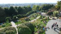 Le parc de Belleville, à Paris.