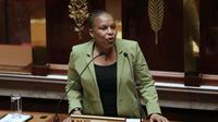 Christiane Taubira devant l'Assemblée nationale, le 29 janvier 2013