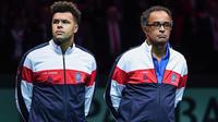 Jo-Wilfried Tsonga et Yannick Noah réfléchissent à leur avenir en équipe de France.