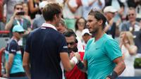 Rafael Nadal avait battu Daniil Medvedev en finale du Masters 1000 de Montréal.