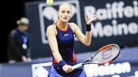 Kristina Mladenovic est retombée au 43e rang mondial.