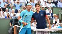 Rafael Nadal et Dominic Thiem s'affrontent dans un remake de la finale de l'année dernière.